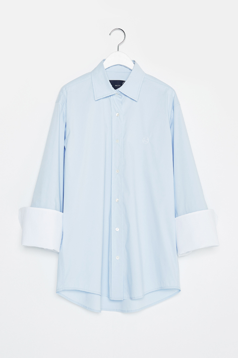 16FW WIDE CUFFS SHIRT (LIGHT BLUE)