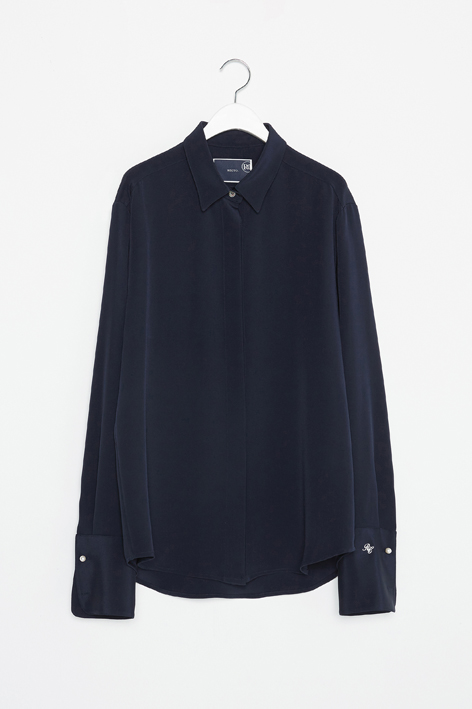 16FW PEARL BUTTON OVER CUFFS SHIRT