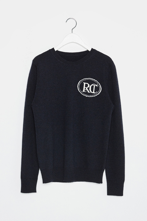16FW RC SIGNATURE ROUND KNIT