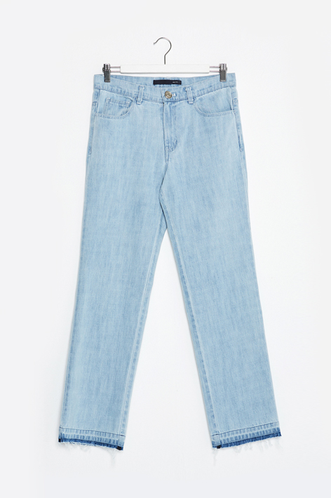 16FW WASHED DENIM PANTS