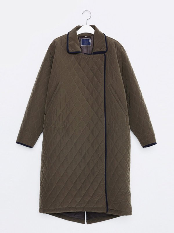 16FW QUILTED COAT