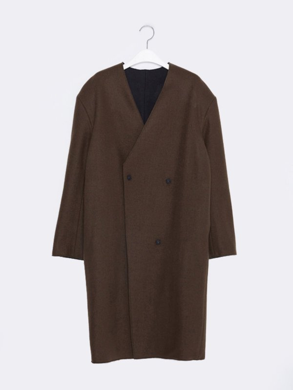 16FW REVERSIBLE DOUBLE COAT