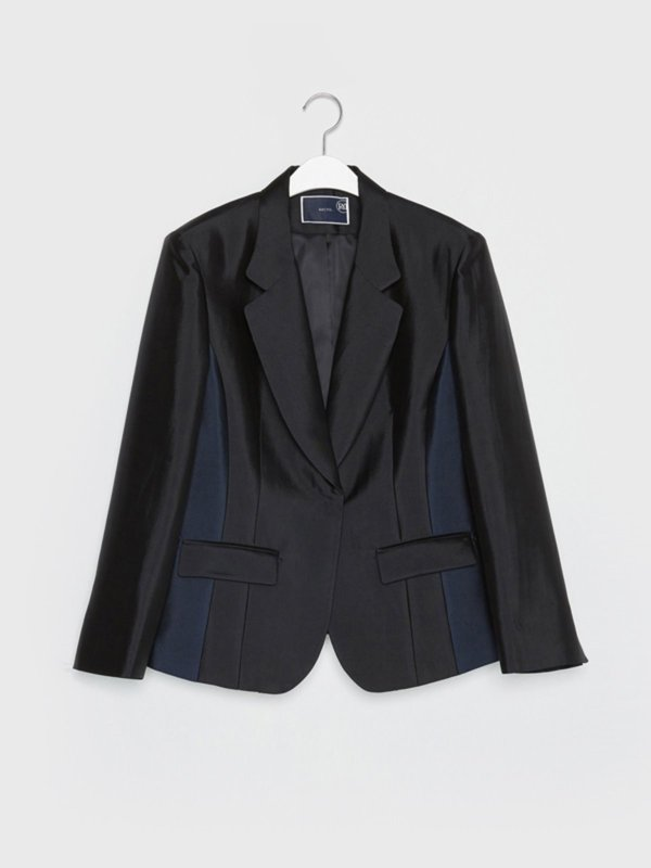 16FW TAILORED SILK JACKET
